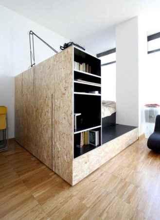 100 Awesome Apartment Studio Storage Ideas Organizing (105)