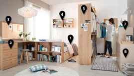 100 Awesome Apartment Studio Storage Ideas Organizing (13)