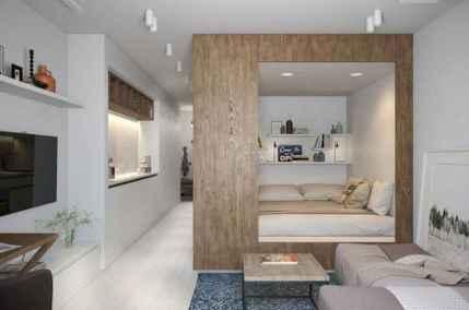 100 Awesome Apartment Studio Storage Ideas Organizing (59)
