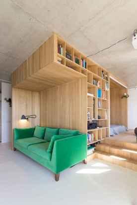 100 Awesome Apartment Studio Storage Ideas Organizing (85)
