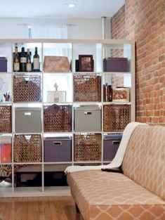 100 Awesome Apartment Studio Storage Ideas Organizing (98)
