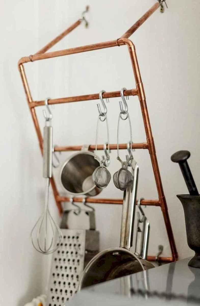 120 DIY Farmhouse Kitchen Rack Organization Ideas (103)