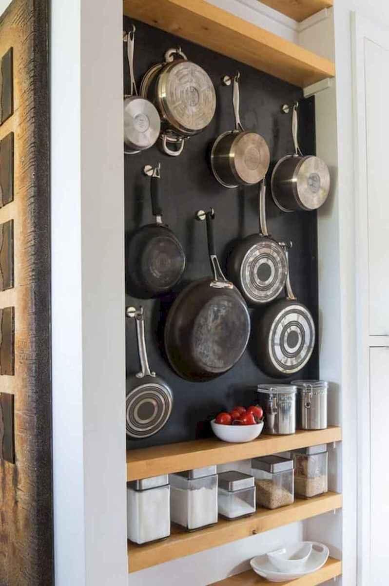 120 DIY Farmhouse Kitchen Rack Organization Ideas (123)