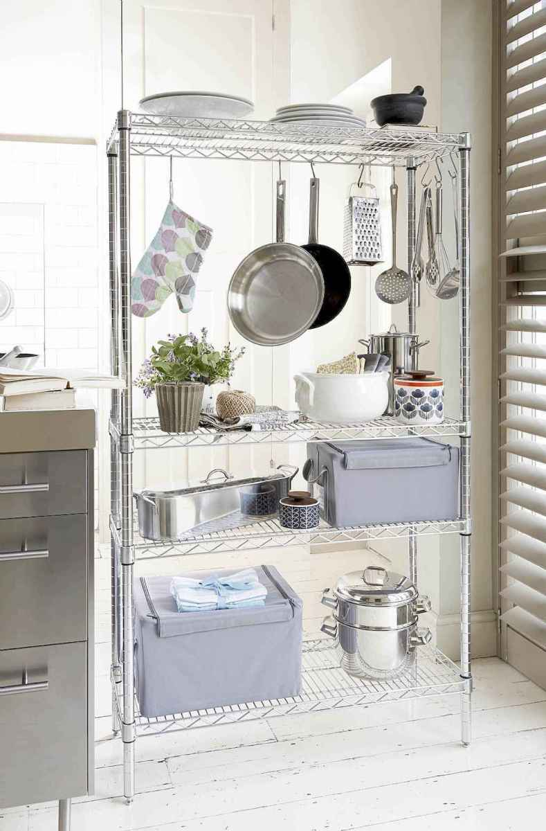 120 DIY Farmhouse Kitchen Rack Organization Ideas (21)