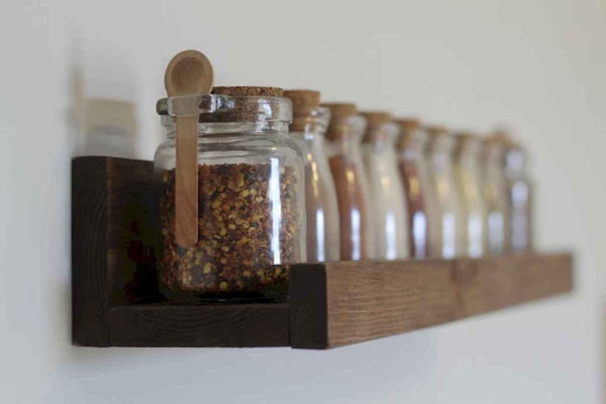 120 DIY Farmhouse Kitchen Rack Organization Ideas (29)
