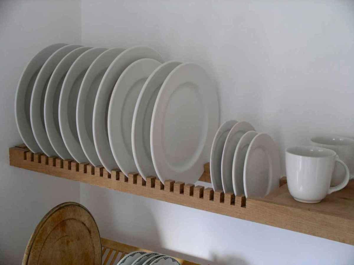 120 DIY Farmhouse Kitchen Rack Organization Ideas (40)