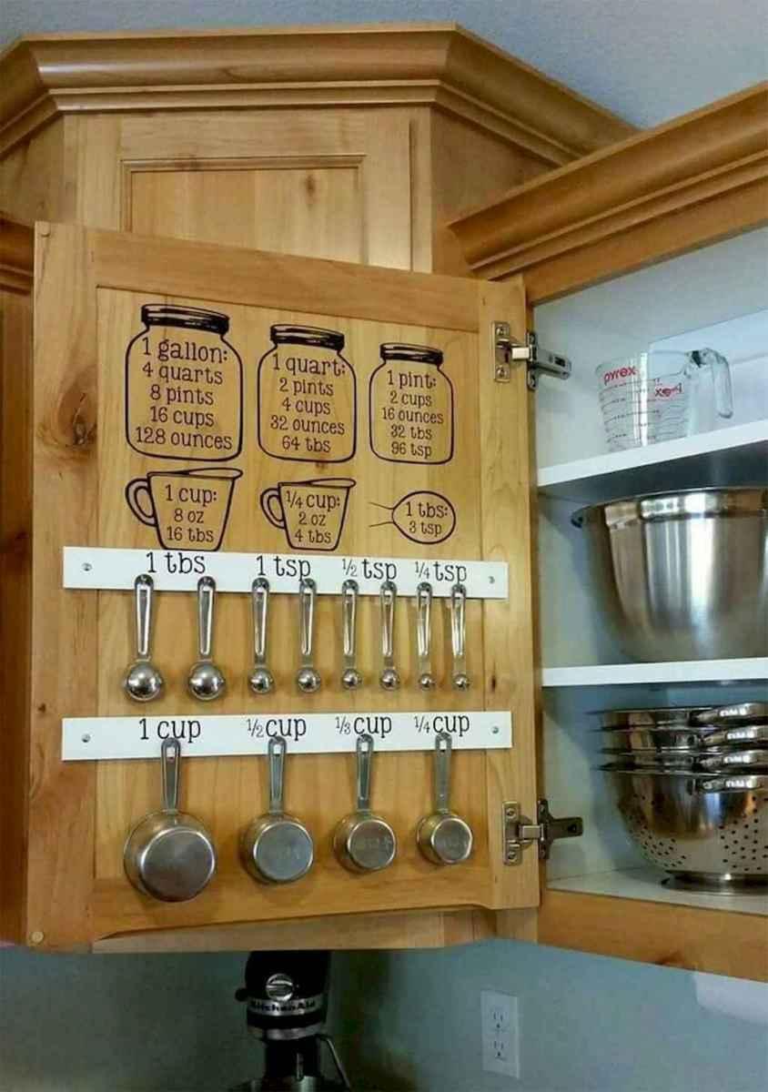 120 DIY Farmhouse Kitchen Rack Organization Ideas (44)
