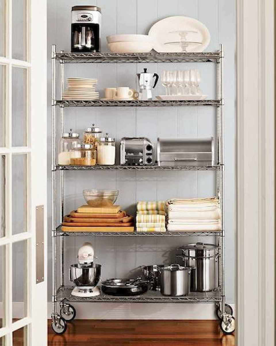 120 DIY Farmhouse Kitchen Rack Organization Ideas (51)