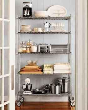 120 DIY Farmhouse Kitchen Rack Organization Ideas (51)