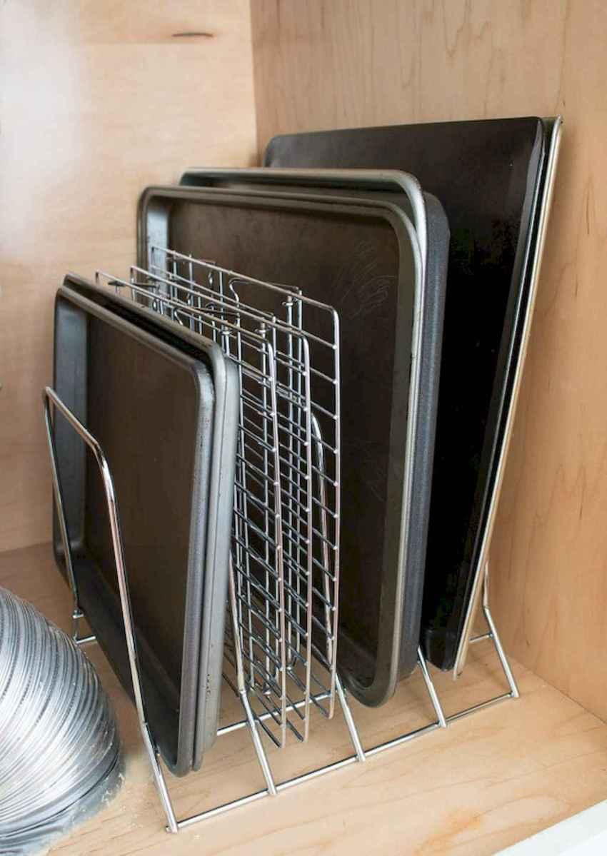 120 DIY Farmhouse Kitchen Rack Organization Ideas (55)