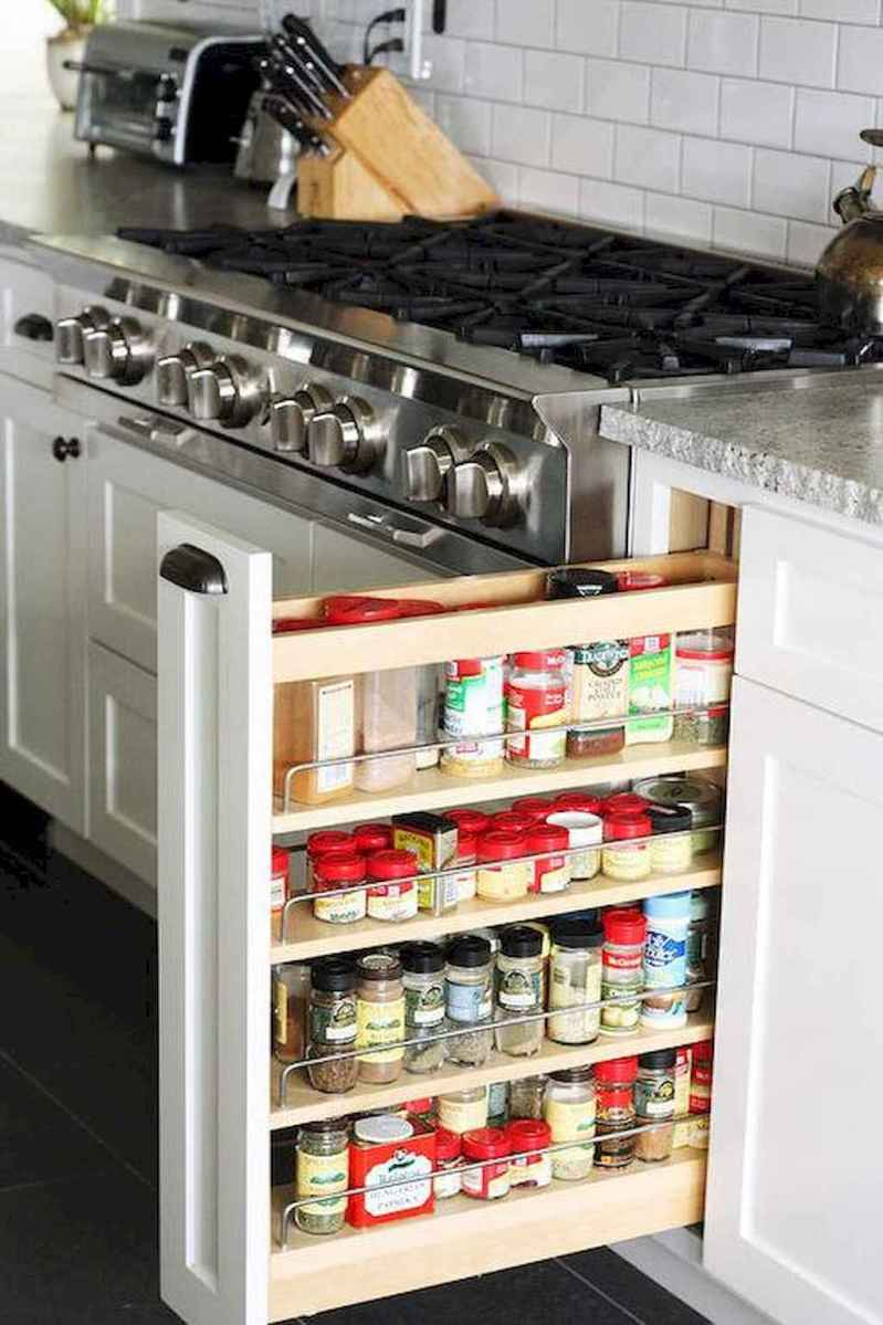 120 DIY Farmhouse Kitchen Rack Organization Ideas (58)