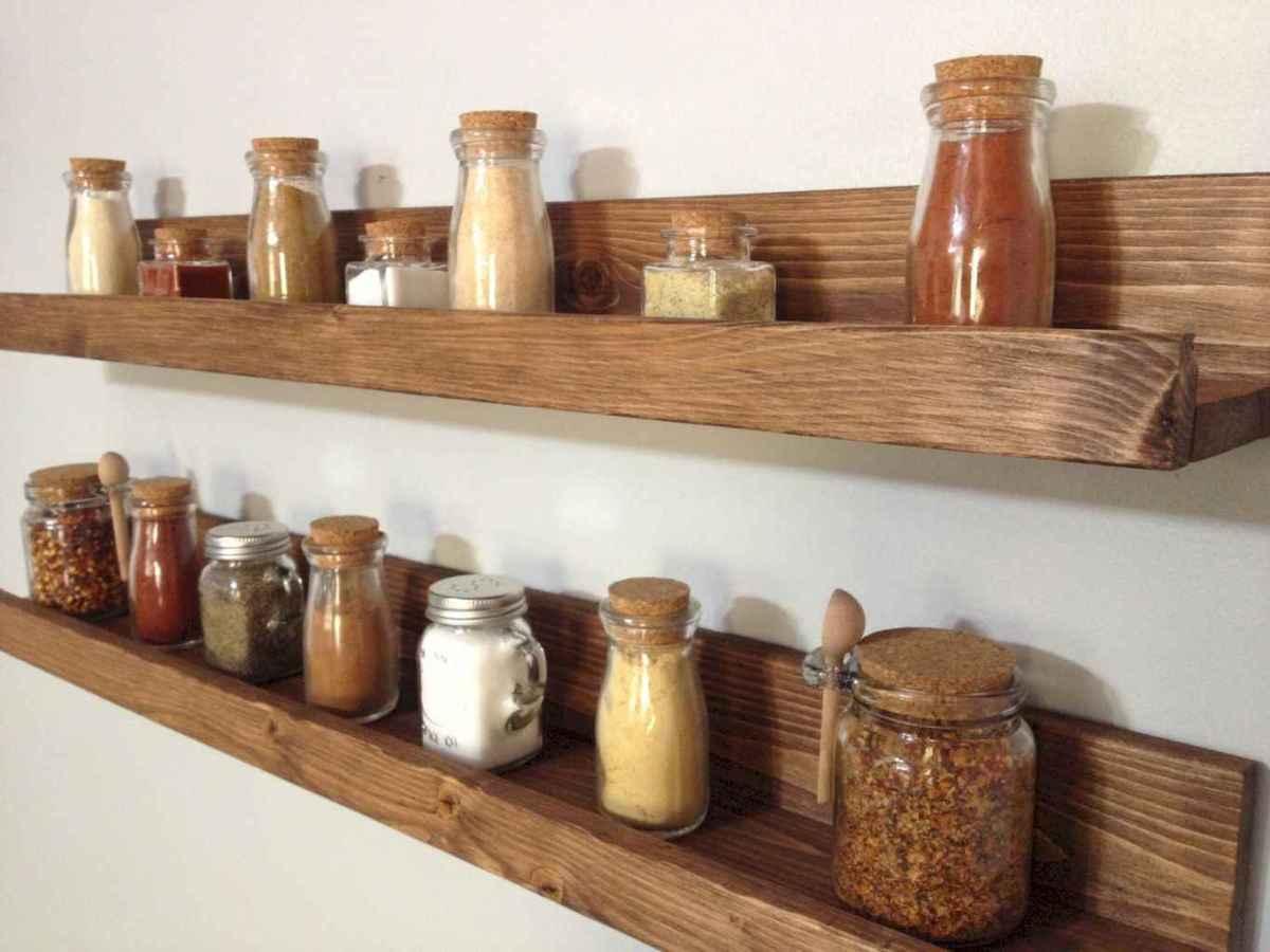 120 DIY Farmhouse Kitchen Rack Organization Ideas (73)
