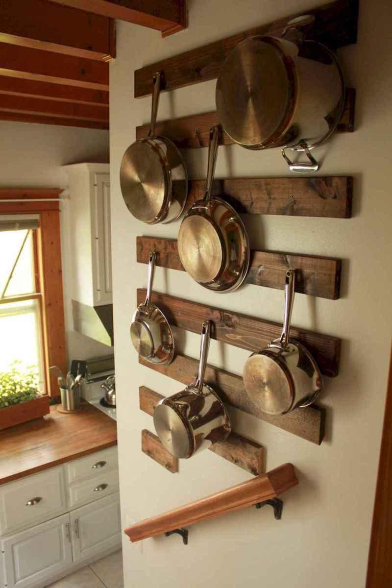 120 DIY Farmhouse Kitchen Rack Organization Ideas (77)