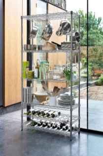 120 DIY Farmhouse Kitchen Rack Organization Ideas (80)