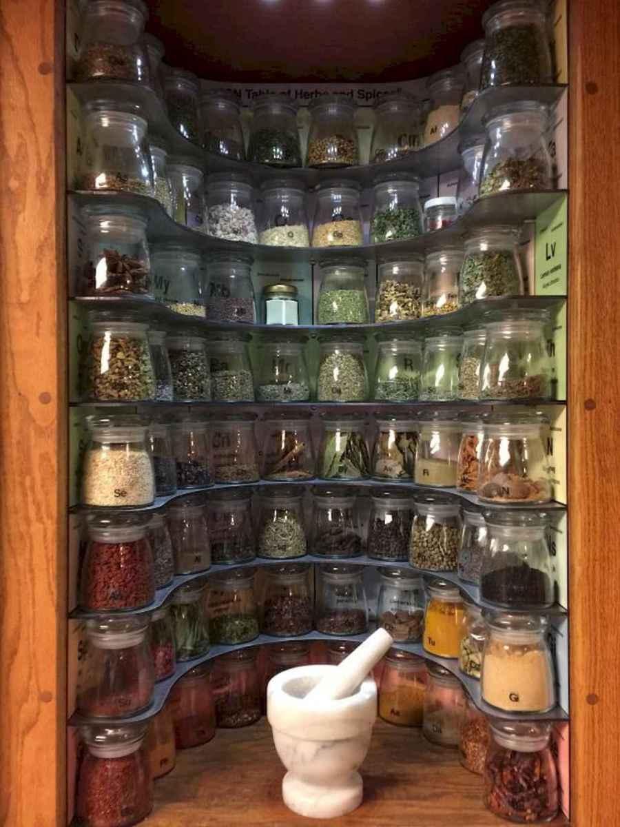 120 DIY Farmhouse Kitchen Rack Organization Ideas (86)