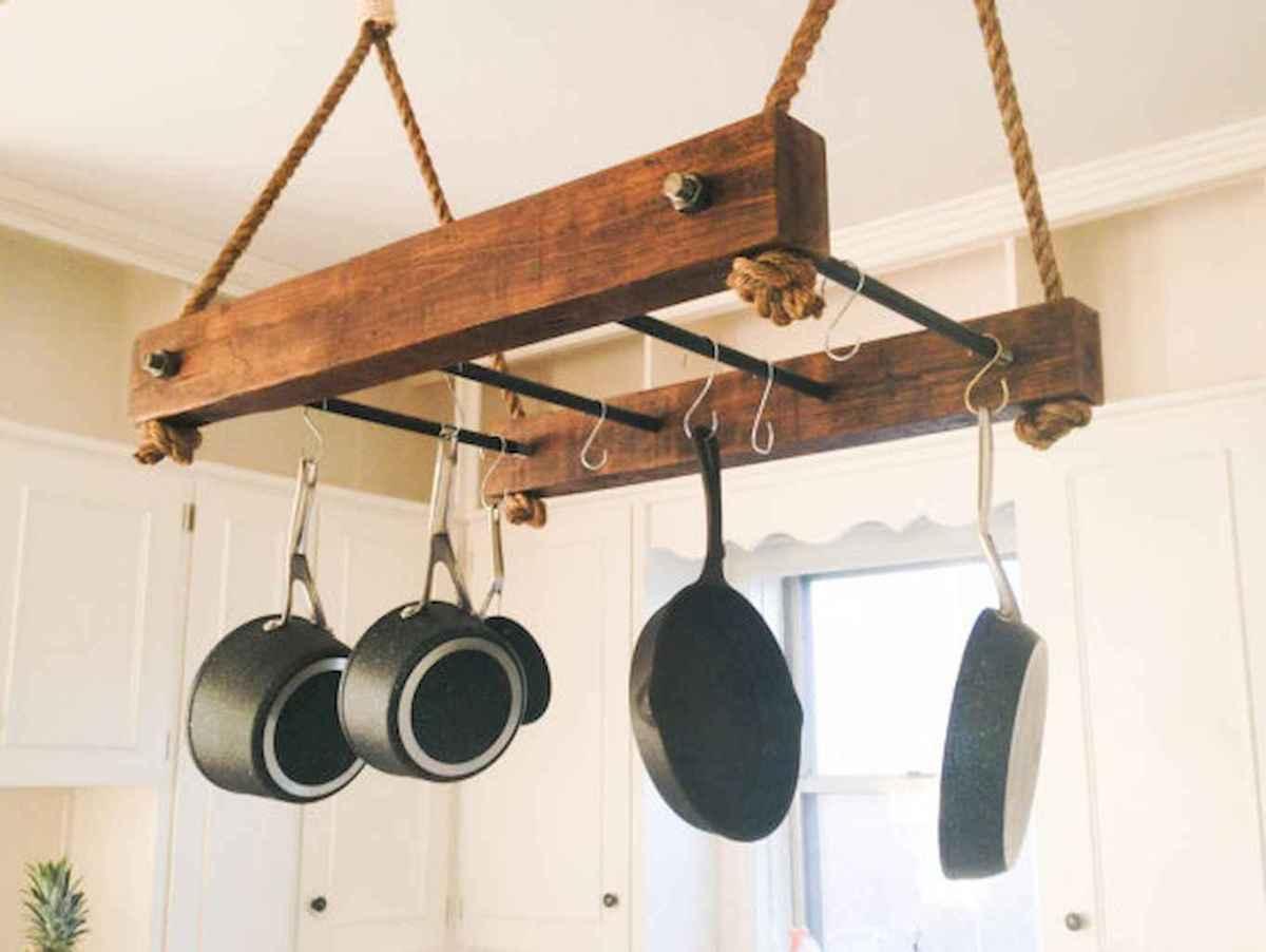 120 DIY Farmhouse Kitchen Rack Organization Ideas (87)