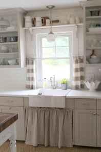 22 Cheap Farmhouse Curtains Ideas Decoration (21)