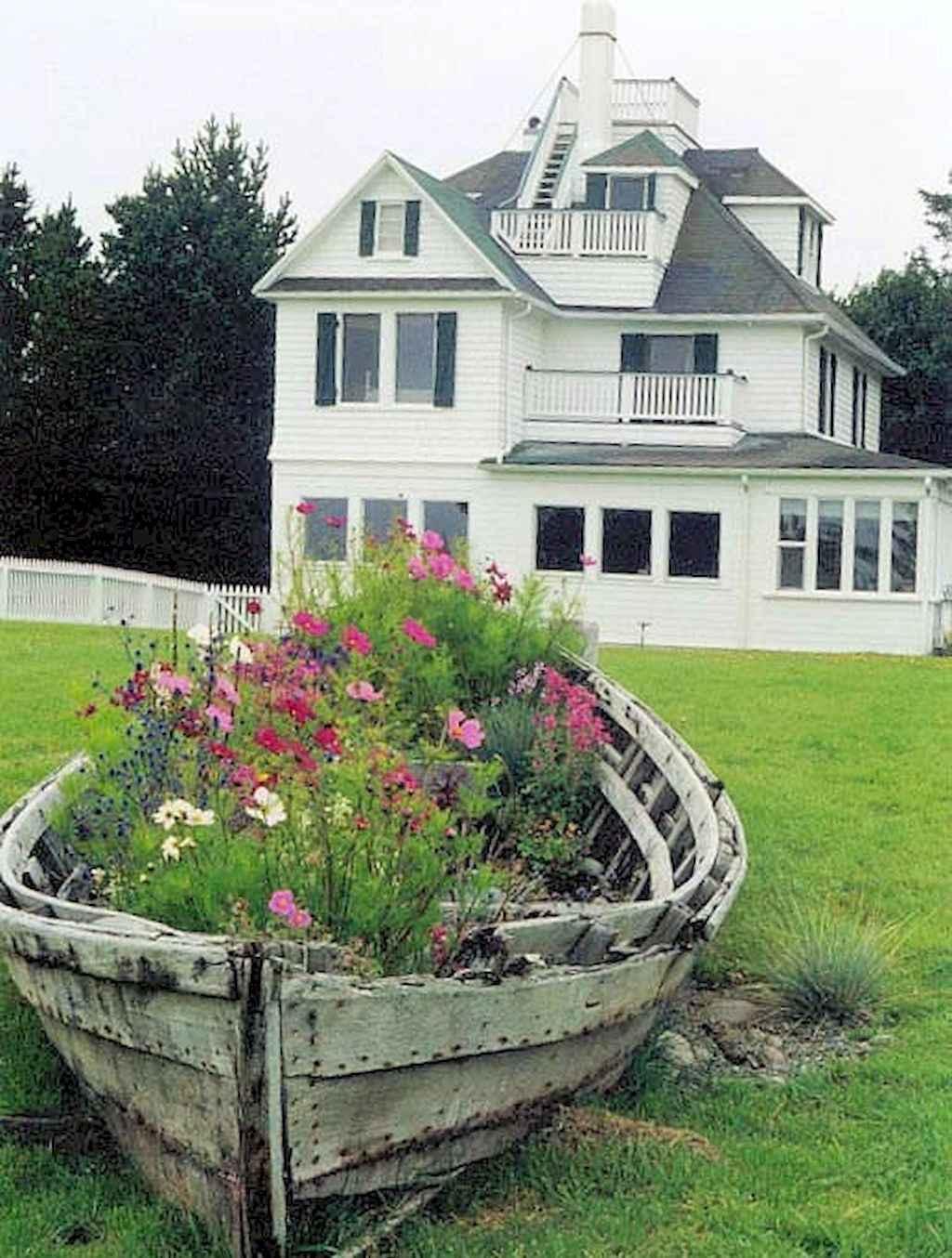 50 cheap and easy flower garden ideas (1)