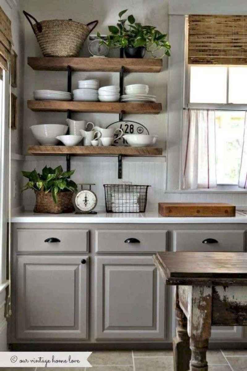 50 farmhouse kitchen decor ideas (67)