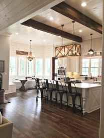 50 Modern Farmhouse Dining Room Decor Ideas (28)