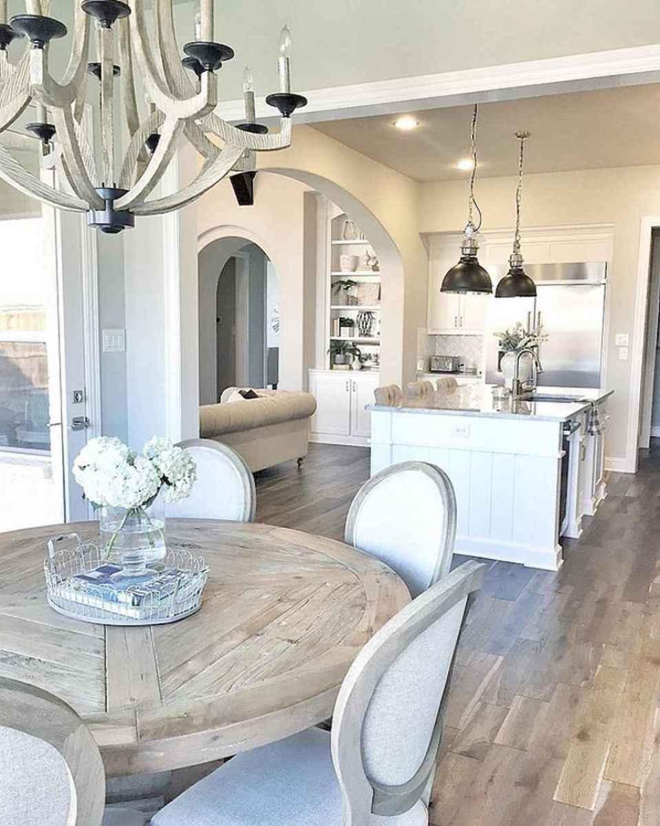 50 Modern Farmhouse Dining Room Decor Ideas (46 ...