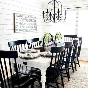 50 Modern Farmhouse Dining Room Decor Ideas (47)