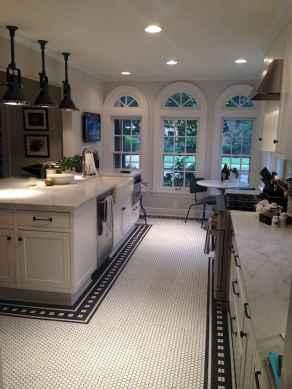 70 Tile Floor Farmhouse Kitchen Decor Ideas (13)