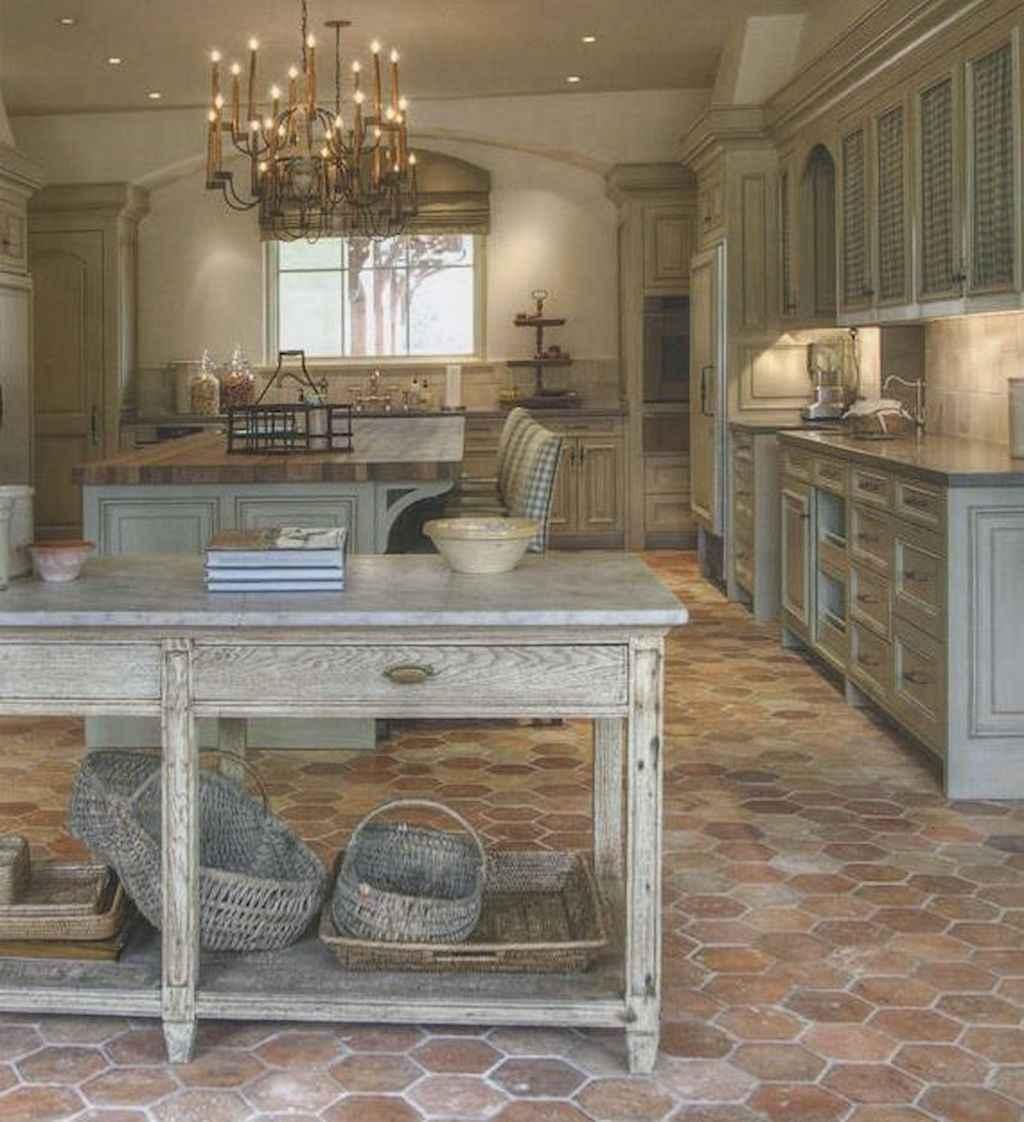 Farmhouse Kitchen Floor Ideas Part - 23: 70 Tile Floor Farmhouse Kitchen Decor Ideas (26)