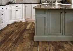 70 Tile Floor Farmhouse Kitchen Decor Ideas (9)
