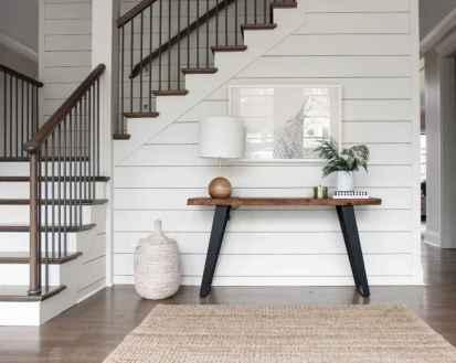 80 Modern Farmhouse Staircase Decor Ideas (39)