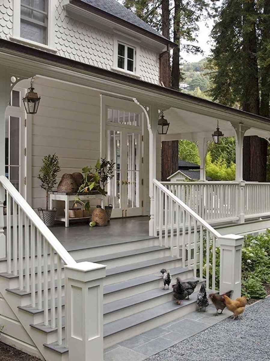 80 Modern Farmhouse Staircase Decor Ideas (40)