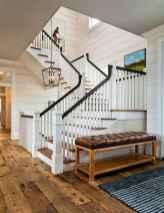 80 Modern Farmhouse Staircase Decor Ideas (58)