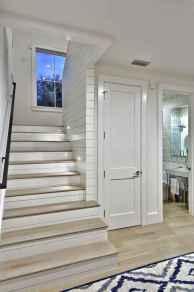 80 Modern Farmhouse Staircase Decor Ideas (61)
