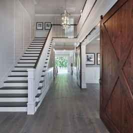 80 Modern Farmhouse Staircase Decor Ideas (68)