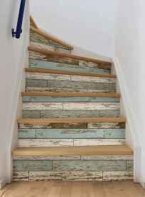 80 Modern Farmhouse Staircase Decor Ideas (7)