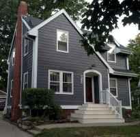 90 Modern American Farmhouse Exterior Landscaping Design (54)