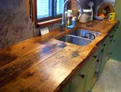 90 Rustic Kitchen Cabinets Farmhouse Style Ideas (38)
