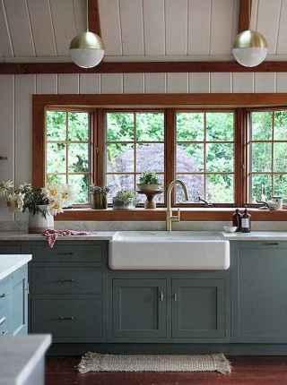90 Rustic Kitchen Cabinets Farmhouse Style Ideas (90)