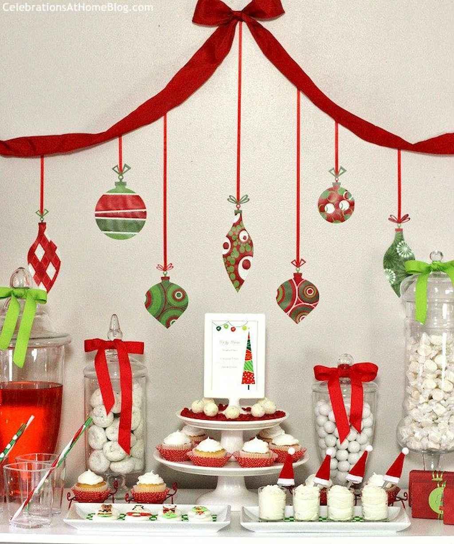 25 Elegant Christmas Party Table Decorations Ideas (22)