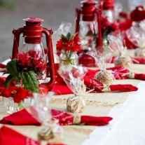 25 Elegant Christmas Party Table Decorations Ideas (4)