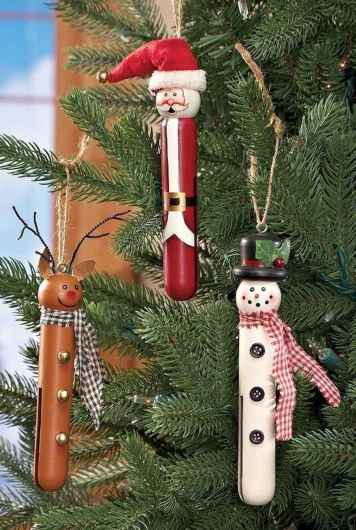 30 Simple Ornaments Christmas Tree Decorations On A Budget (9)