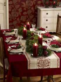 40 Awesome Christmas Dinner Table Decorations Ideas (1)