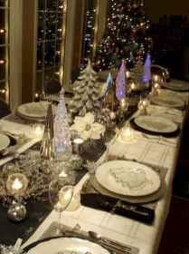 40 Awesome Christmas Dinner Table Decorations Ideas (2)