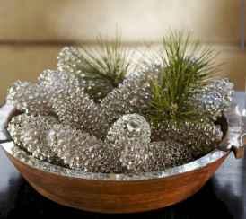 45 Best Christmas Decorations Outdoor Pine Cones Ideas (12)