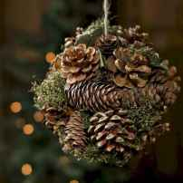 45 Best Christmas Decorations Outdoor Pine Cones Ideas (16)