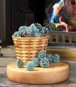 45 Best Christmas Decorations Outdoor Pine Cones Ideas (21)