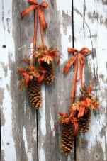 45 Best Christmas Decorations Outdoor Pine Cones Ideas (22)