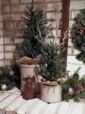 45 Best Christmas Decorations Outdoor Pine Cones Ideas (24)