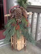 45 Best Christmas Decorations Outdoor Pine Cones Ideas (36)