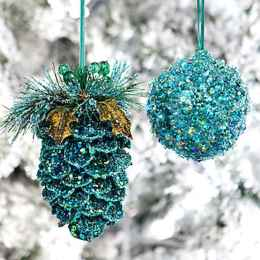 45 Best Christmas Decorations Outdoor Pine Cones Ideas (6)